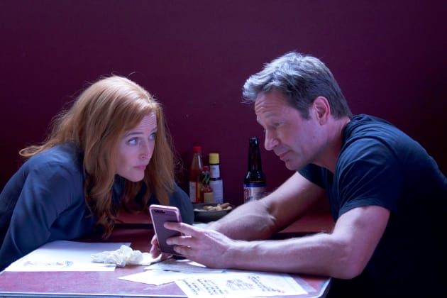Mulder and Scully Tabled - The X-Files