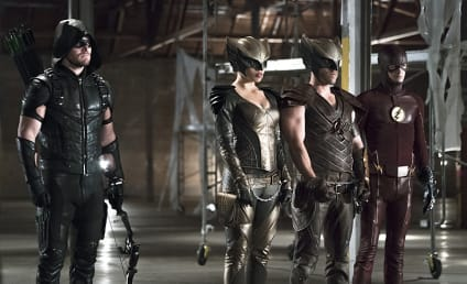 Arrow Photo Preview: Superhero Protection Detail