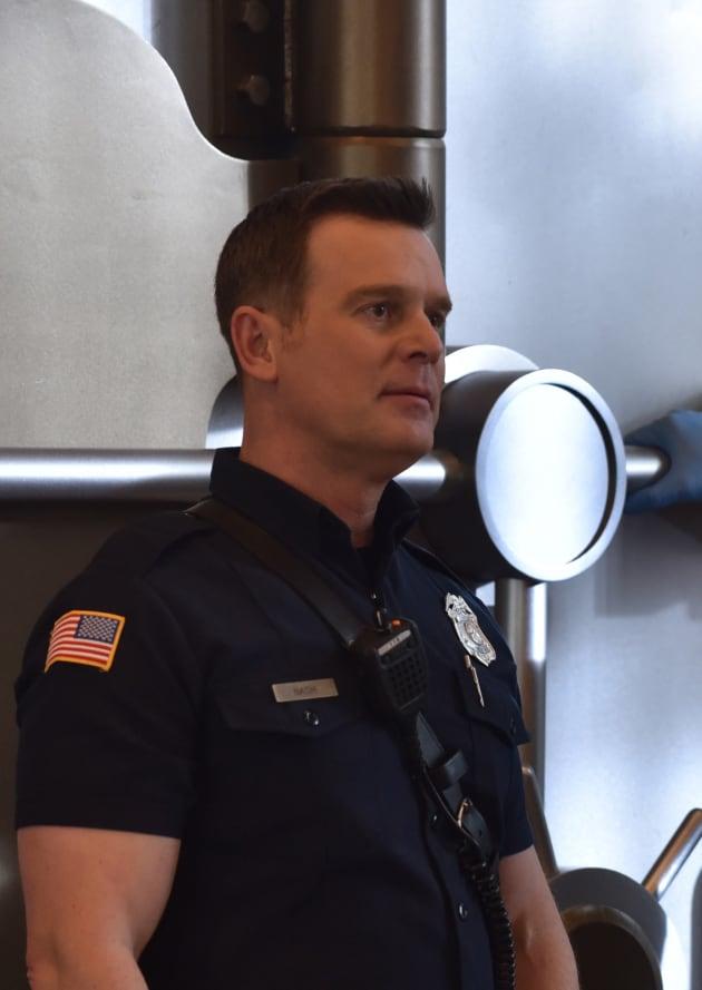 Bobby at the Vault - 9-1-1 Season 2 Episode 15
