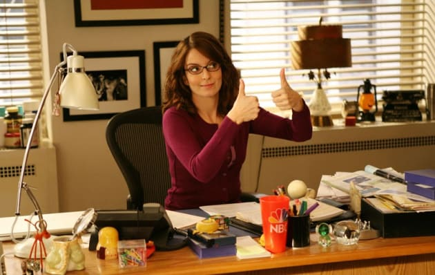 Liz Lemon Thumbs Up - 30 Rock
