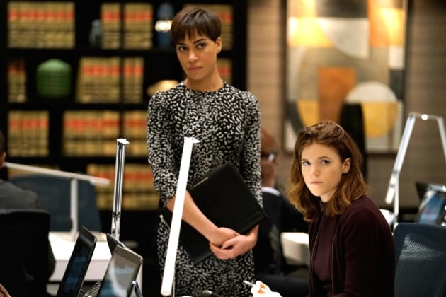 Lucca and Maia - The Good Fight Season 1 Episode 2