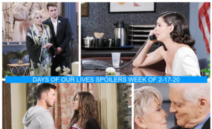 Days of Our Lives Spoilers Week of 2-17-20: A Dose of Wedding Karma!
