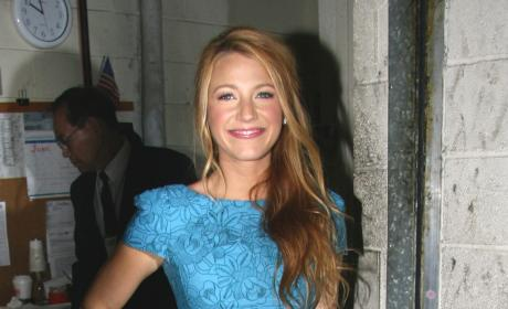 Blake in a Blue Dress