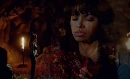 The Vampire Diaries Sneak Preview: Feeding & Frightening