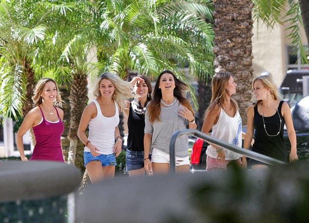 The Ladies Arrive in Miami