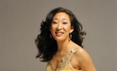 Sandra Oh in Yellow