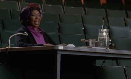 Whoopi Goldberg on Glee