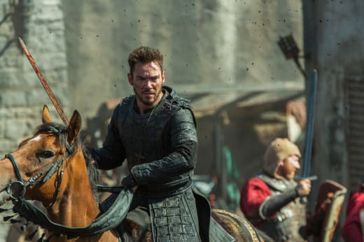 Heahmund in Battle - Vikings Season 5 Episode 5