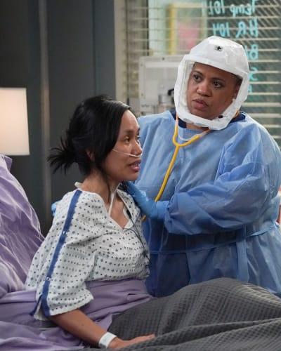 Saving Gerlie  - Grey's Anatomy Season 17 Episode 17