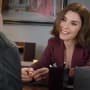 Alicia Flirts With Jason - The Good Wife Season 7 Episode 15