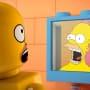 Homer as a LEGO