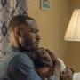 Ralph Angel Holds Darla - Queen Sugar Season 4 Episode 10