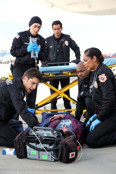 TK Paramedic  - 9-1-1: Lone Star Season 2 Episode 7