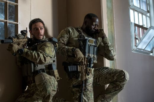 Preach and Amir - The Brave Season 1 Episode 4