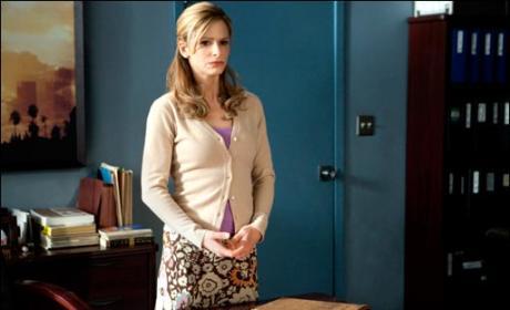 Brenda in Her Office