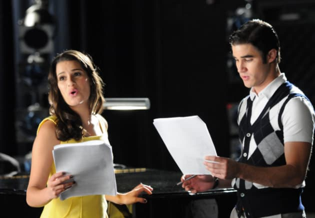 Rachel and Blaine
