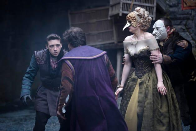Fighting for Lady Ev - Emerald City Season 1 Episode 5