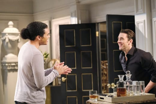Theo Shares Exciting News - Days of Our Lives