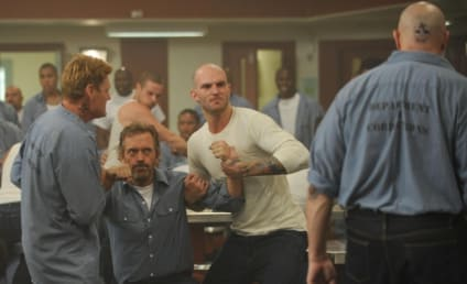 House Season Premiere Pics: Prison Fight!