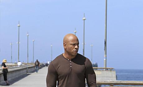 Hanna on the Pier