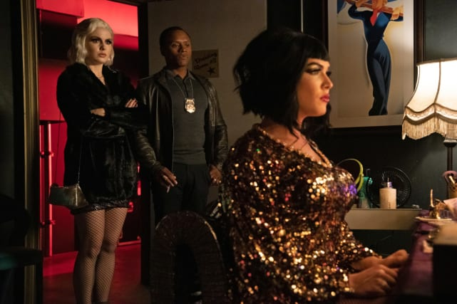 Death of a drag queen izombie