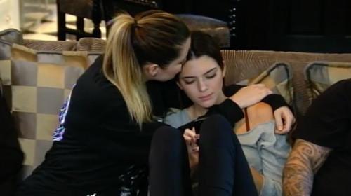 Comforting Kendall