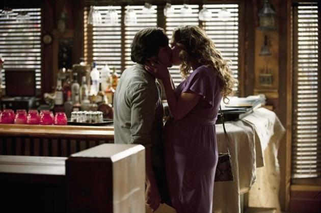 Jack and Amanda Kiss