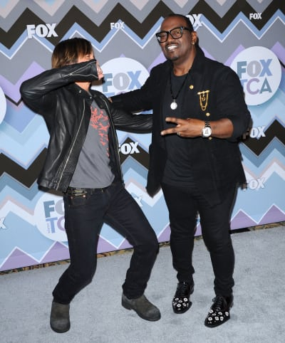 Randy Jackson with Keith Urban