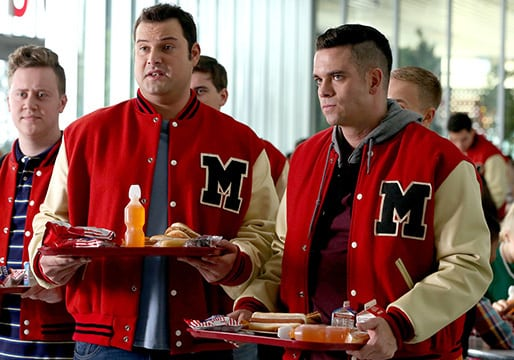 Puck and Karofsky - Glee Season 6 Episode 12