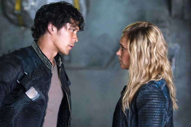 Bellamy and clarke the 100