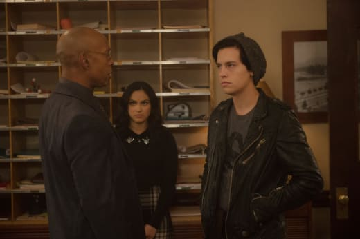 The Principal's Authority - Riverdale Season 2 Episode 10