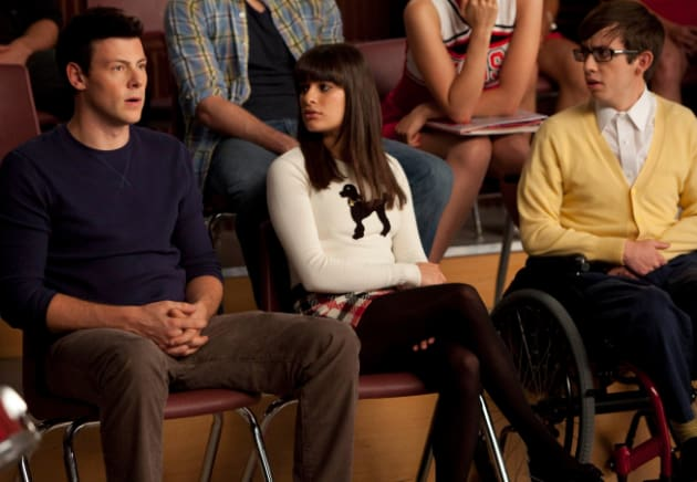 A Glee Couple