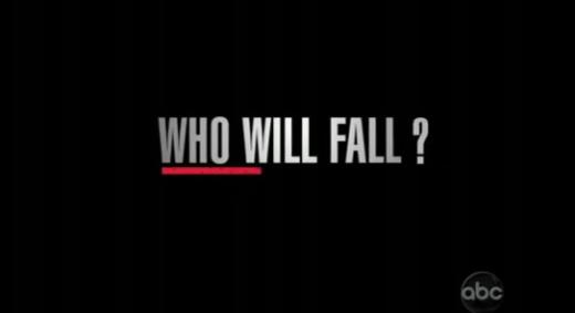 WHO WILL FALL