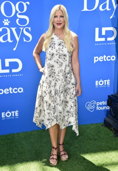 Tori Spelling Attends LD Entertainment's Dog Days