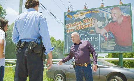 Sheriff Big Jim - Under the Dome Season 2 Episode 8