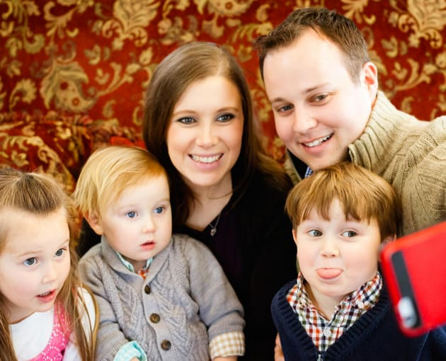 Josh Duggar and Family - 19 Kids and Counting