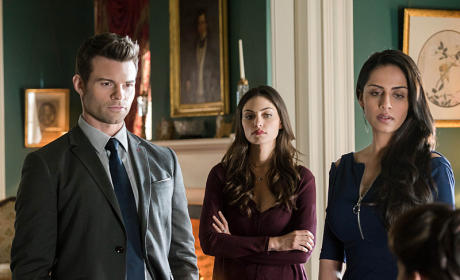 Gia, Hayley and Elijah - The Originals Season 2 Episode 17