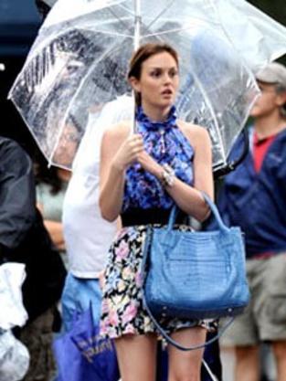 Leighton Under an Umbrella