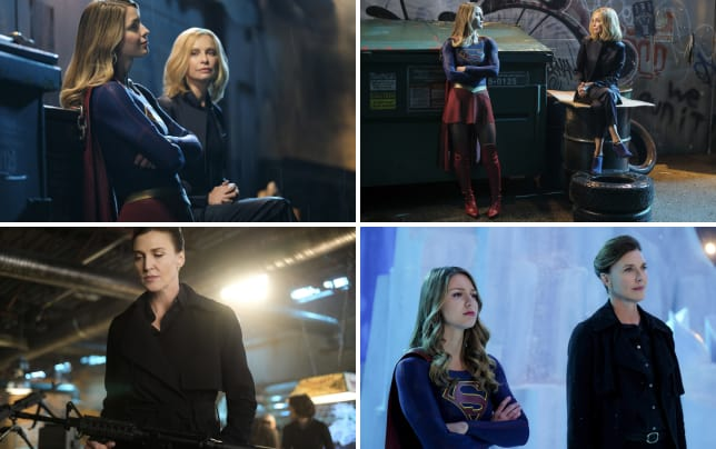 Cats back supergirl season 2 episode 21