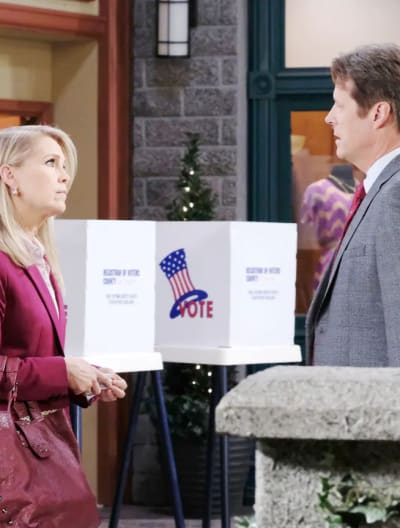 Election Day Angst - Days of Our Lives
