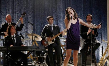 Karen on Stage