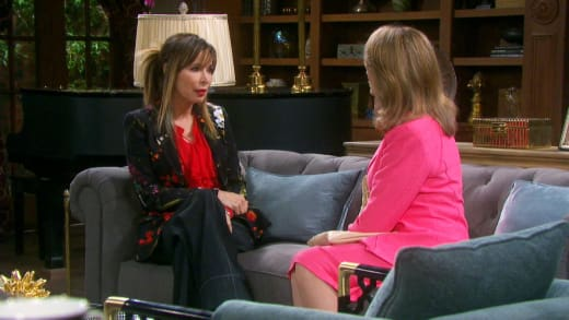 Marlena Counsels Kate - Days of Our Lives
