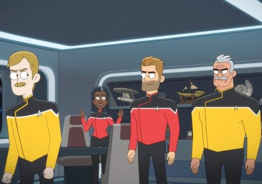 Appeasing the Bridge - Star Trek: Lower Decks Season 2 Episode 10