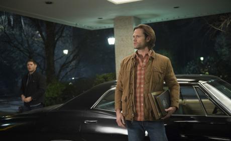 Sam and Dean arrive in style - Supernatural Season 12 Episode 16