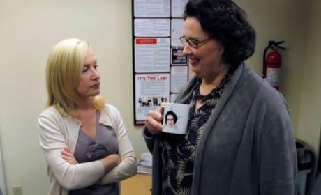 Angela and Phyllis