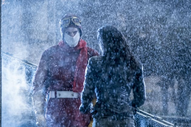 Mystery Man - The Flash Season 3 Episode 14