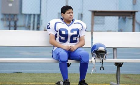 Manny Delgado on the Bench