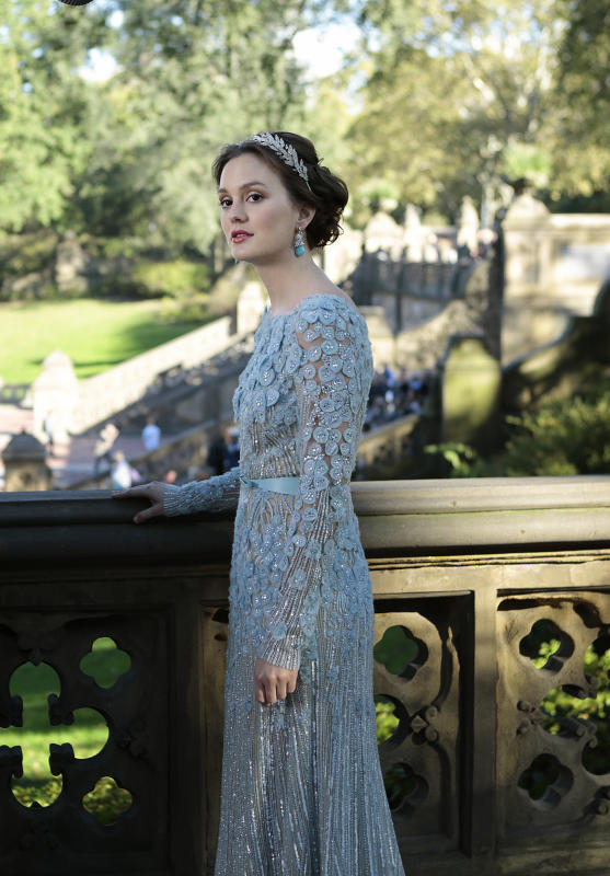 blair waldorf wedding dress reloaded
