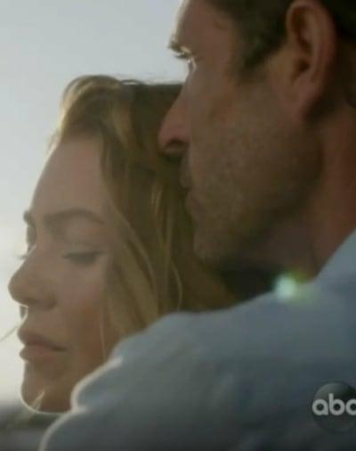 Derek Holds Mer  - Grey's Anatomy Season 17 Episode 13