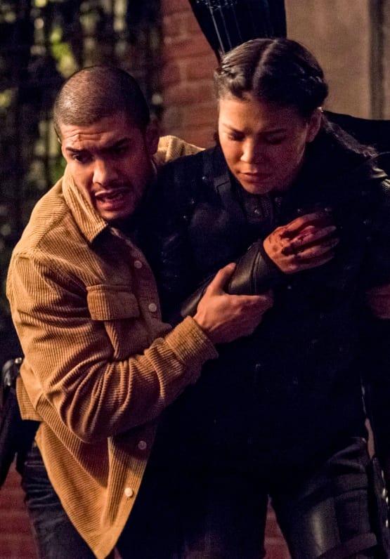 Rene Helps His Friends  - Arrow Season 7 Episode 10
